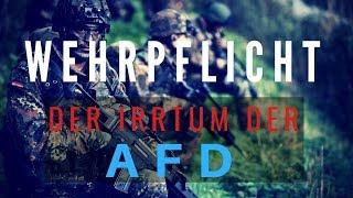 Wehrpflicht - Der Irrtum der AfD