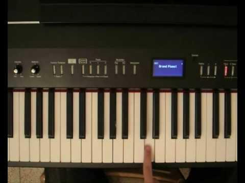 Kid Cudi - Day 'N' Nite - Piano Tutorial