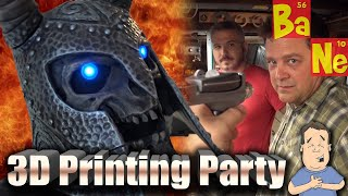 3D Printing Party at Punished Props Cosplay Studio