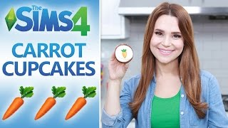SIMS 4 CARROT CUPCAKES - NERDY NUMMIES