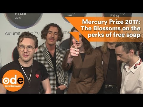 Mercury Prize 2017: The Blossoms on the perks of free soap