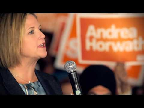 2011 - ONDP-Andrea Horwath and Ontario's NDP - Positive choice