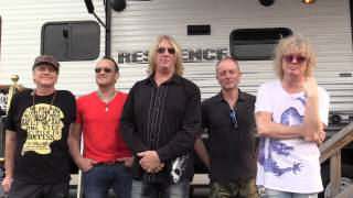 Def Leppard message for Japan