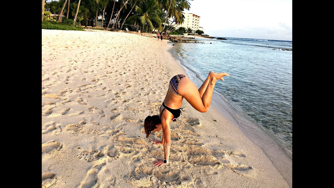 BARBADOS BEACH WORKOUT - THE ULTIMATE TRAVEL WORKOUT YOU CAN TAKE ANYWHERE