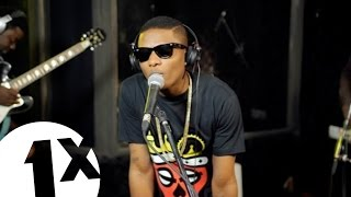 Wizkid -- Joy  No Woman No Cry Bob Marley Cover in the 1Xtra Live Lounge Lagos Nigeria