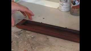 Model Railroad, River Details: Make A River Barge.  Easy Scratch Building For Model Trains