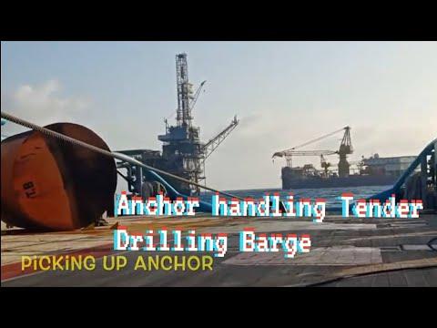 Anchor Handling Tender Drilling Barge
