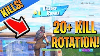 Get 20 Kill Games EASILY! Console Fortnite Ps4/Xbox BEST Tips and Tricks! (How to Win Fortnite)