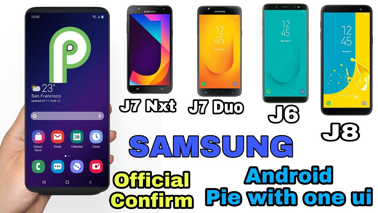 Android Pie: Android Pie J7 Nxt
