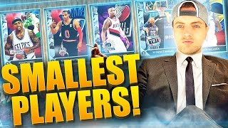 SMALLEST PLAYERS ONLY DRAFT! #1 - NBA 2K16 DRAFT vs. MyLEAGUE REBUILD CHALLENGE!