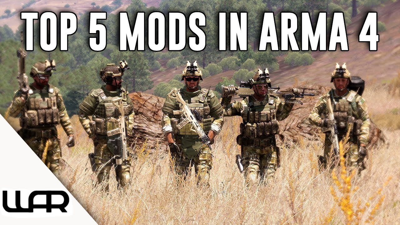 Top 5 Arma 3 Mods That Need to be in Arma 4 - Самые лучшие видео