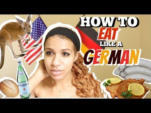 🇩🇪 HOW TO EAT LIKE A GERMAN
