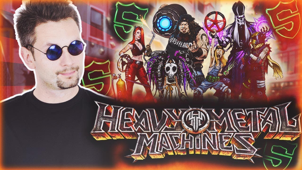 THE SHIELDERS W HEAVY METAL MACHINES | GAMEPLAY