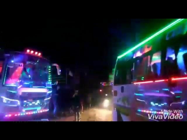 ???? ???????? ?????? ?? ! DJ Light Show of KERALA TOURIST BUS