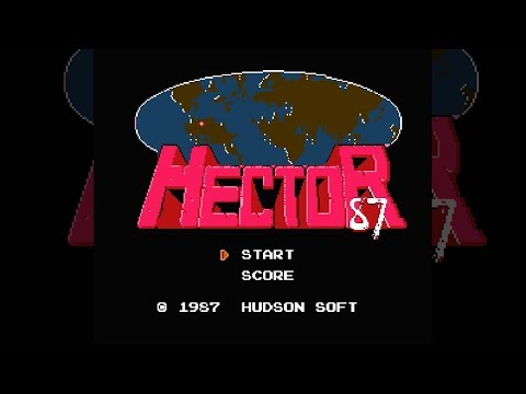 HECTOR'87 / Starship Hector - SFC/NES