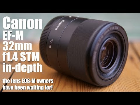 Canon EF-M 32mm F1.4 Review: EOS M Owners Rejoice!