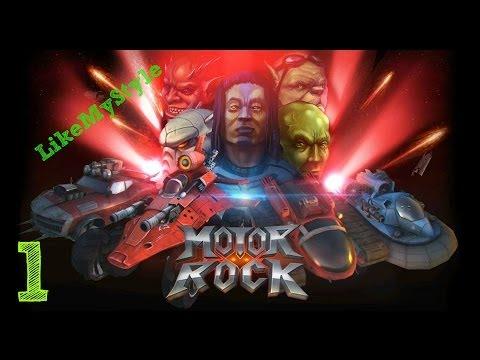 Motor Rock. Часть 1 (Сравнение с Rock n Roll Racing)