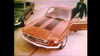 1968 Ford Mustang TV Ad Commercial (3/5) - Shelby Mustang GT