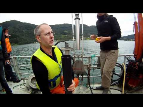 Sogndalsfjord Sediment Sampling 2011