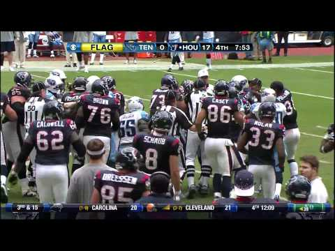 Andre Johnson vs. Cortland Finnegan Full Fight