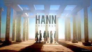 "Gambar cover [3D + BASS BOOSTED] (G)I-DLE (여자아이들) ""HANN"" (한 (一))"