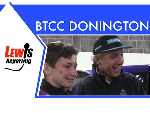 Jason Plato - Subaru TeamBMR - BTCC Donington Park 2016