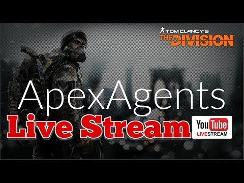 Tom Clancy's The Division Update 1.8 PS4Live | The Apex Show | #BACKINTHESE #iCutRopes