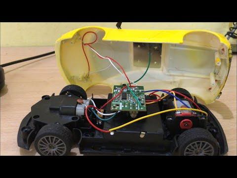 Toy Lamborghini Teardown | What is inside remote control RC car | Dissasemble rc car