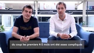 Alumni Story | Lancelot & Matthias, co-fondateurs de Scalia