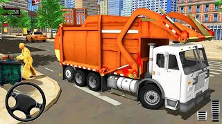 City Cleaner Garbage Truck - Truck Driving - Android Gameplay [HD]
