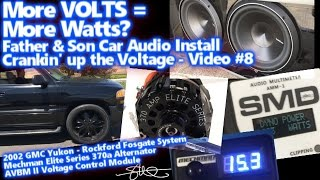 Crankin' The Voltage - More Volts = More Watts? Mechman Avbm Ii Smd Amm-1 Proof (father/son Video 8)