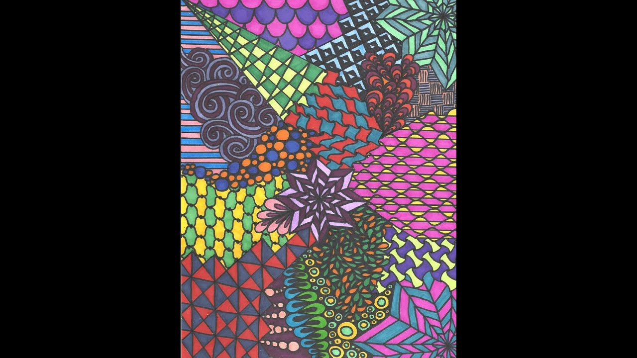 Pics For &gt Cool Colorful Drawings In Sharpie
