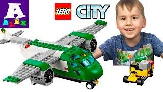 Іграшки Лего Сіті Огляд і Розпакування Вантажний літак LEGO City 60101 Огляд іграшки
