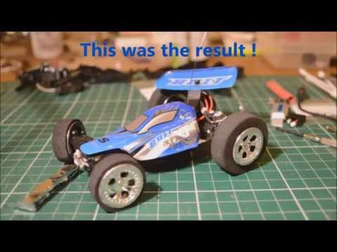Mighty Micro RC Car Mods 4  Worlds fastest bolt project part 2
