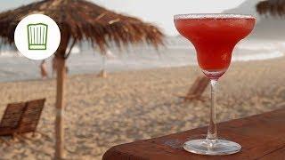 Erdbeer Margarita - Fruchtig-frischer Cocktail #chefkoch