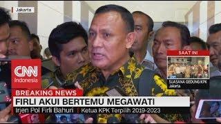 Firli Akui Bertemu Megawati