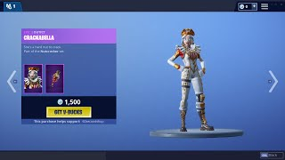 *OG* CRACKSHOT RETURNS + CRACKABELLA | 60 Second Fortnite Shop (Fortnite Battle Royale)