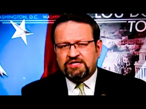 Gorka Has TOTAL Meltdown On Media Because They're Mean To Trump