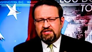 Gorka Has TOTAL Meltdown On Media Because They