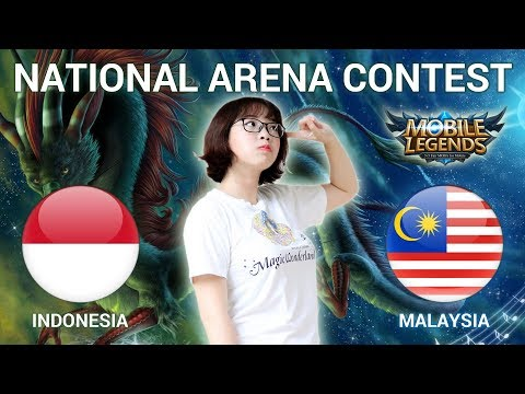 INDONESIA VS MALAYSIA - National Arena Contest Cast by Kimi Hime - 07/04/2018