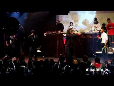 Jay Electronica, Talib Kweli, Mos Def & P.Diddy Performing LIVE 'Exhibit C'