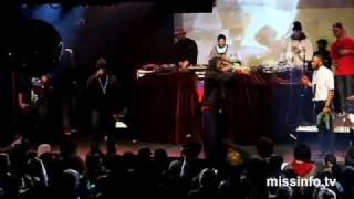 Jay Electronica, Talib Kweli, Mos Def & P.Diddy Performing LIVE