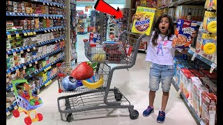 Deema goes Grocery Shopping at Food Store