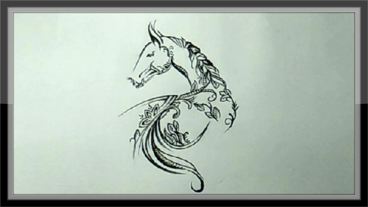 Pencil Drawing Simple And Beautiful Picture Easy Step By ...