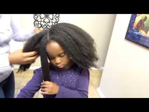 Natural Hair Care | How To Moisturize Your Child's Dry Natural Hair