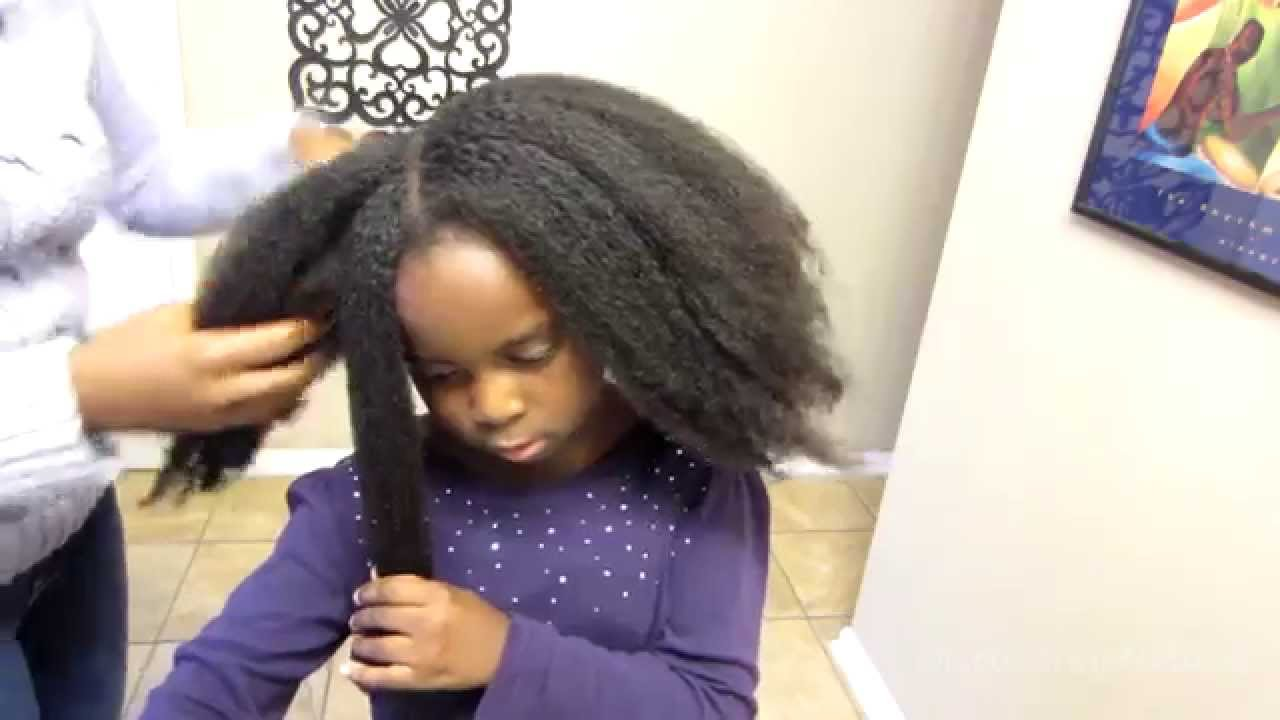 Natural Hair Care How To Moisturize Your Child S Dry Natural