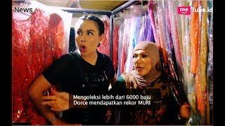 Miliki 6 Ribu Baju Show, Dorce Gamalama dapat Rekor Muri Part 03 - Alvin & Friends 06/11
