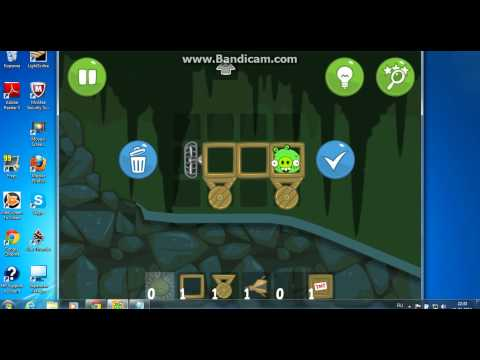 Игра Bad Piggies на компьютере!