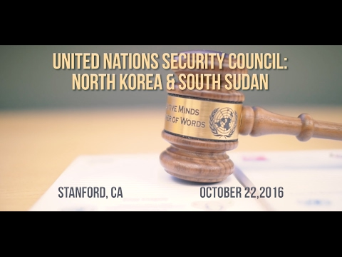 LCM Middle School Stanford Conference:  UN Security Council | North Korea & South Sudan
