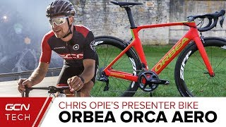 Chris Opie's Orbea Orca Aero Presenter Bike